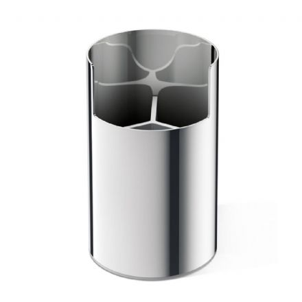Zack Scala Utensil Box Polished Stainless Steel